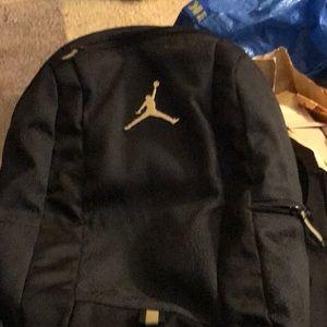 Jordan Brand Backpack black w/ gold